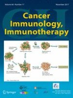 Cancer Immunology, Immunotherapy 11/2017