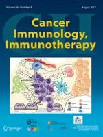 Cancer Immunology, Immunotherapy 8/2017