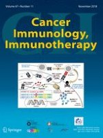Cancer Immunology, Immunotherapy 11/2018