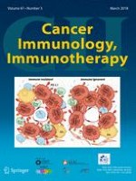 Cancer Immunology, Immunotherapy 3/2018