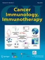 Cancer Immunology, Immunotherapy 5/2018