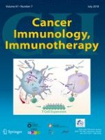 Cancer Immunology, Immunotherapy 7/2018