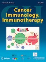Cancer Immunology, Immunotherapy 5/2019