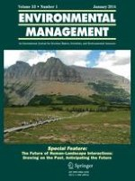Environmental Management 1/2014