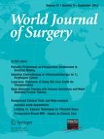 World Journal of Surgery 3/2003