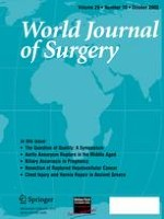 World Journal of Surgery 10/2005
