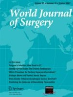 World Journal of Surgery 10/2007