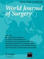 World Journal of Surgery 12/2007