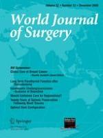 World Journal of Surgery 12/2008