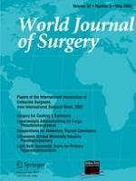 World Journal of Surgery 5/2008