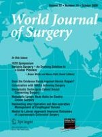 World Journal of Surgery 10/2009