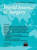 World Journal of Surgery 11/2010