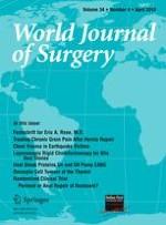 World Journal of Surgery 4/2010
