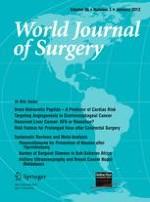World Journal of Surgery 1/2012