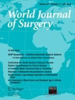 World Journal of Surgery 7/2013