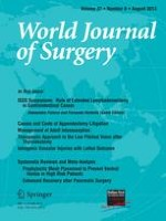 World Journal of Surgery 8/2013