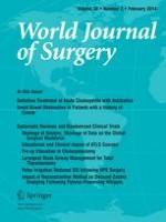 World Journal of Surgery 2/2014