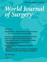 World Journal of Surgery 7/2014