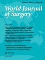World Journal of Surgery 8/2014