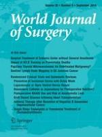 World Journal of Surgery 9/2014
