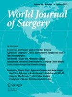 World Journal of Surgery 1/2015