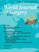 World Journal of Surgery 10/2016