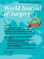World Journal of Surgery 12/2016