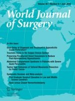 World Journal of Surgery 6/2016