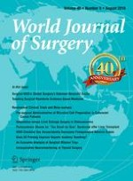 World Journal of Surgery 8/2016