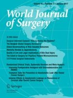 World Journal of Surgery 1/2017