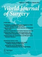 World Journal of Surgery 2/2017