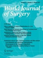 World Journal of Surgery 3/2017