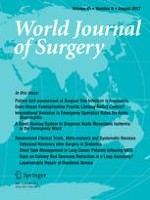 World Journal of Surgery 8/2017