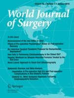 World Journal of Surgery 1/2018