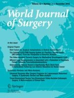 World Journal of Surgery 11/2018