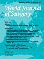 World Journal of Surgery 12/2018