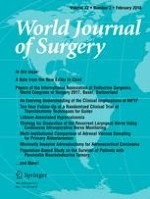World Journal of Surgery 2/2018