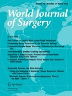 World Journal of Surgery 3/2018