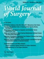 World Journal of Surgery 5/2018