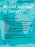 World Journal of Surgery 6/2018