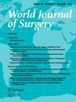 World Journal of Surgery 9/2018