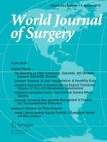 World Journal of Surgery 1/2019