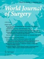 World Journal of Surgery 11/2019