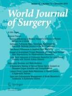 World Journal of Surgery 12/2019