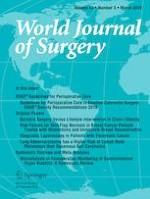 World Journal of Surgery 3/2019