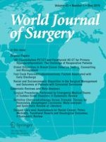 World Journal of Surgery 5/2019