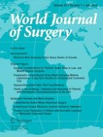 World Journal of Surgery 7/2019