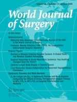 World Journal of Surgery 1/2020
