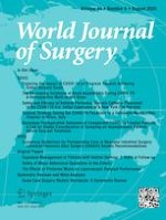 World Journal of Surgery 8/2020