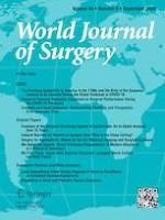 World Journal of Surgery 9/2020